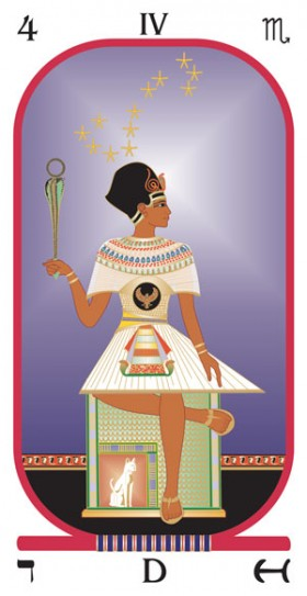 Egyptian Tarot Kit Deck Book Loscar: The Brotherhood Of Light Egyptian Tarot