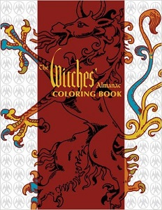 The Witches' Almanac Coloring Book