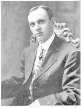 Edgar Cayce just after his marriage